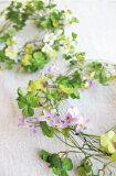 クローバーガーランド 造花 インテリア 光触媒 CT触媒