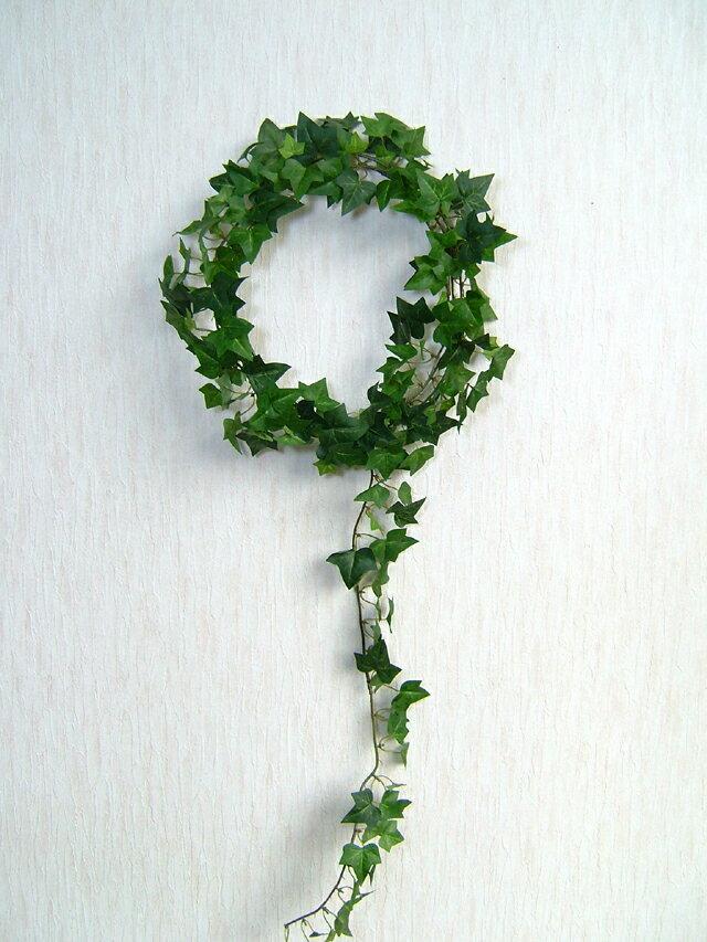 ミニイングリッシュアイビー グリーン 46056 人工観葉植物 造花 インテリア フェイクグリーン ガーランド 壁掛 消臭 光触媒 CT触媒