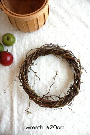 wreath【ドライフラワーリース台20cm】