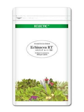 【送料無料】 ECLECTIC(エクレクティック)エキナシア(ムラサキバレンギク) RT(根) Ecoパック 180カプセル ec044