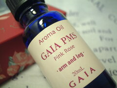GAIA PMS(生理前ストレス用)マッサージ用アロマオイルピンクローズ