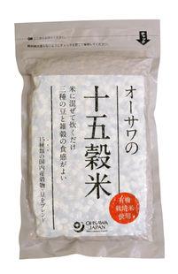 【オーサワジャパン】オーサワの十五穀米