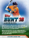 MLB2016TOPPSBUNTBASEBALL(8X-05287)