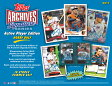 ◆予約◆MLB 2017 TOPPS ARCHIVES SIGNATURE SERIES BASEBALL[ボックス](8X-06062)