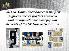 【海外サッカーカード】◆予約◆送料無料 2011 UPPERDECK SP GAME USED SOCCER