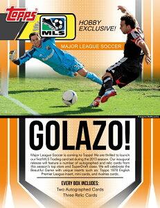 【7月下旬以降発売予定:米メジャーリーグサッカー】◆予約◆送料無料 SOCCER 2013 TOPPS MLS