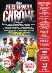 【12月以降発売予定:2013-14ドイツブンデスリーガクローム高級版サッカーカード】◆予約◆送料...