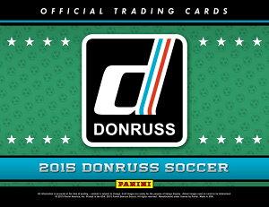 ◆予約◆送料無料 2015 DONRUSS SOCCER