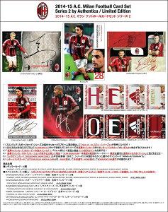 【4月下旬発売予定:海外サッカーカード】◆予約◆フロンティア 2014-15 ACミラン フットボール...