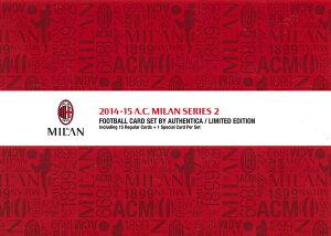 【海外サッカーカード】フロンティア 2014-15 ACミラン フットボールカードセット・シリーズ2 b..