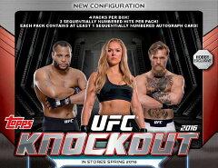 ◆予約◆送料無料 2016 TOPPS UFC KNOCKOUT