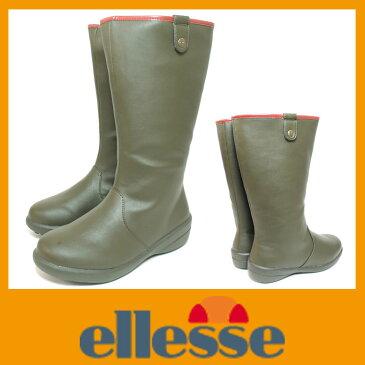 防水ブーツ【スノーブーツ】【レインブーツ】ellesse エレッセ 632 オリーブ【RCP】