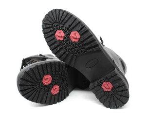 防寒スノーブーツワークブーツスパイクNORTHDATEショートノースデイト3525ブラック雪レディースカジュアルブーツ【RCP】10P07Nov15