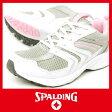 【送料無料】 レディース ランニングシューズ スポルディング JN 201 3E グレー/ピンク SPALDING スポーツ スニーカー ジョギング 【RCP】 05P03Dec16