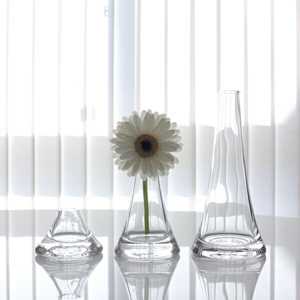 富士山の一輪挿し3点セット3色フラワーベース 花瓶 北欧雑貨 北欧インテリア インテリア雑貨 おしゃれギフト対応 MIRAGE-STYLE vase