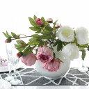 エレガントなボタン 【2色】【MIRAGE-STYLE】 MODERNインテリア シルクフラワー アートフラワー flower FA-6672WH