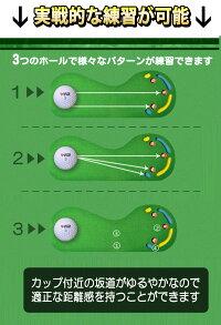 パターマット3m【特大】サイズゴルフ練習用具ゴルフ練習マット
