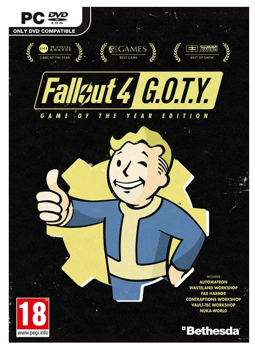 Fallout 4 Game of the Year Edition (PC DVD) (輸入版)【新品】画像