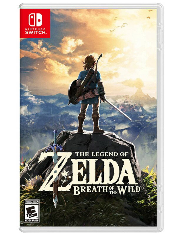 Nintendo Switch, ソフト  The Legend of Zelda: Breath of the Wild (:) - Switch