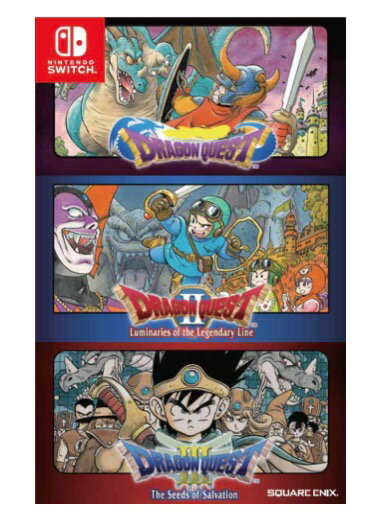 Nintendo Switch, ソフト Dragon Quest I, II III (1, 2 3) Collection ( ) - Switch