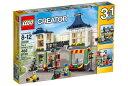 レゴ クリエイター 31036 おもちゃ屋と町の小さなお店