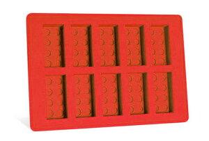 LEGO Food & Drink/レゴ クラシック 852768 Ice Cube Tray, Bricks (Red)