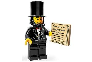 レゴ 71004 ミニフィギュア レゴ ムービーシリーズ エイブラハム・リンカーン(Abraham Lincoln5) - ミニフィグ (1z287)