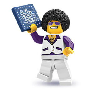 レゴ 8684 ミニフィギュア シリーズ2 ディスク・ジョッキー (Disco Dude) -…