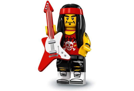 レゴ71019ミニフィギュアレゴニンジャゴーザ・ムービーゴング&ギター・ロッカー(Gong&GuitarRocker-17)-ミ