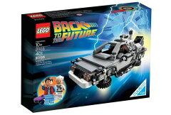 LEGO CUUSOO /レゴ クーソー 21103 デロリアン・タイムマシン