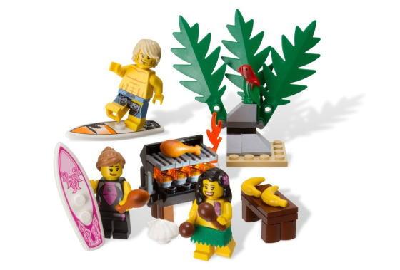 レゴ ミニフィギュア 850449 Beach Minifigure Accessory Pack