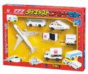 【10%OFF★人気商品】ダイキャストエアポートセットJAL●鶴丸 飛行機模型(MT413/MT466)