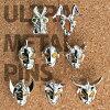 《新製品》【ピンズ全8種コンプリートセット】ウルトラメタルピンズコレクションフェイス《ウルトラマンショップ限定》
