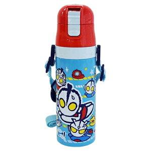 保冷専用☆軽量ワンプッシュダイレクトステンレスボトル【かわいい水筒♪M78飛び】