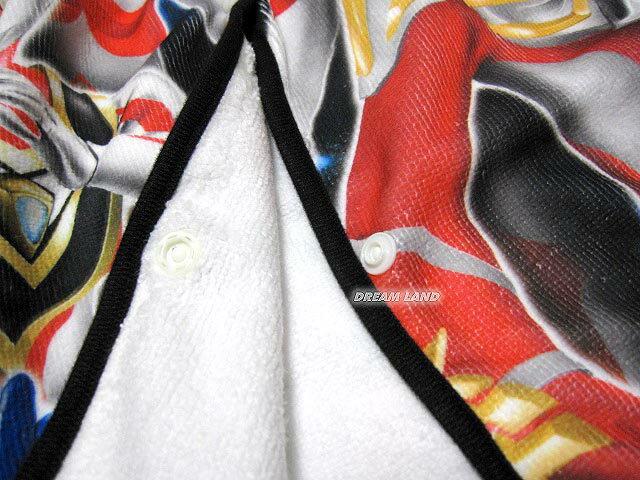 【UVカット!ゴム入り】ウルトラマンオーブまきまきタオル【ラップタオル60cm★美しいプリント】