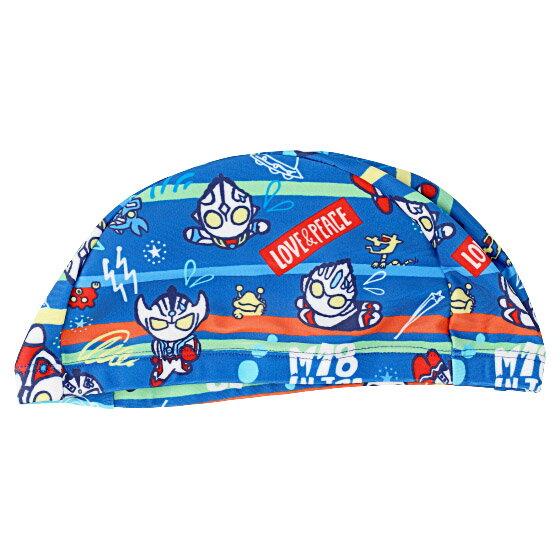 《》M78ウルトラマン スイミングキャップ 水泳帽子 落書きアート子供用 《ウルトラマンショップ