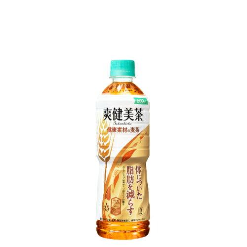 <メーカー直送>爽健美茶 健康素材の麦茶 600mlPET×24本×※代金引換不可