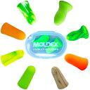 [限定品MoldexPoket-Pak-ClearCase付 あす楽] Moldex 8種お試し耳栓とモルデックスクリアケース1個セット限定品(SparkPlugs Mellows PuraFit Go'inGreen Meteors MeteorsSmall Softies CamoPlugs x 各1ペア) ネコポス-ポスト投函 送料無料