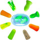 [限定品MoldexPoket-Pak-ClearCase付|あす楽] Moldex 8種お試し耳栓とモルデックスクリアケース1個セット限定品(SparkPlugs|Mellows|PuraFit|Go'inGreen|Meteors|MeteorsSmall|Softies|CamoPlugs x 各1ペア) ネコポス-ポスト投函 送料無料
