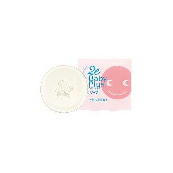 【サンプル付】資生堂 2e ドゥーエ ベビープラス ソープ 100g 敏感肌用透明石鹸 [顔からだ用]