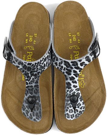 birkenstock papillio gizeh leopard