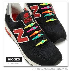 【即納】HICKIESヒッキーズ靴紐シューレースシューアクセサリーELASTICLACINGSYSTEMエラスティックレーシングシステム16本入(色違い2本含)【bpl】【メール便配送可(代引不可)】【あす楽対応】