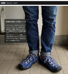 【日本別注カラー】KEENキーンメンズスニーカーJasperMNSジャスパーMedieval-Blue/White(1012082FW14)