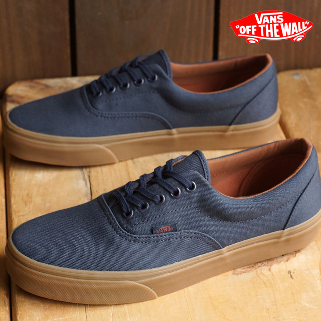 vans era gum sole blue nights/medium gum