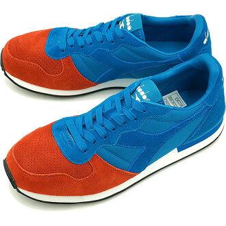 迪爾德麗 DIADORA 運動鞋復古跑鞋雙 CAMARO 卡瑪洛雙 5919 BL RFL/BRWN PRP (161660 FW15)