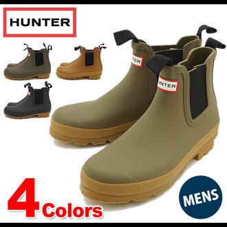 HUNTER Hunter said Gore boots rain boots Men's Original Gum Sole Chelsea men's original Chelsea ( HUW25896 FW14 )