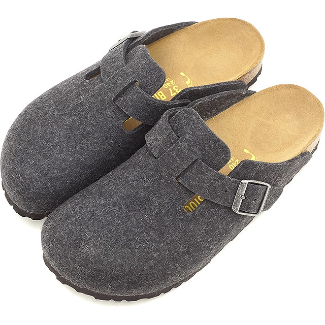 birkenstock wool clogs mens