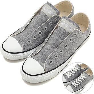 CONVERSE Converse sneakers ALL STAR FELT SLIP OX all-star felt slip OX grey (32761167 HO15)
