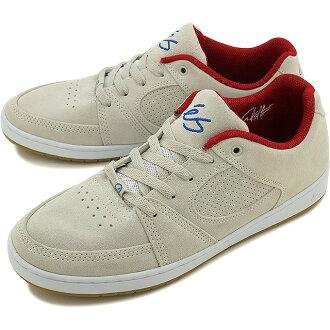 ES Accel 苗條 es 男式女式滑板鞋運動鞋 ACCEL 苗條白/紅 (ASTA 湯姆配色) (FW16)