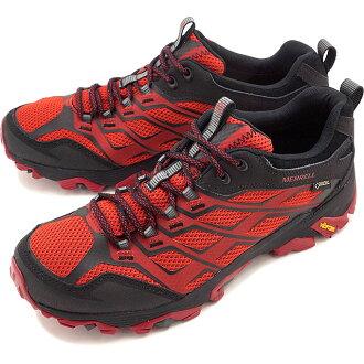 Merrell 摩押 FST 戈爾特斯徒步鞋 MERRELL 摩押 FST 戈爾特斯勃艮第和黑色男裝 (J35765 FW16)